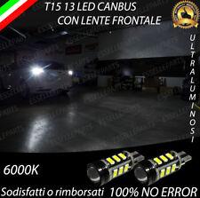 LED RETROMARCIA T15 W16W CANBUS FORD FOCUS MK3 III 6000K BIANCO ULTRALUMINOSE
