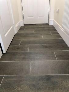 Porcelanosa Oxford Castano Wood Effect Floor Tiles 3.56m2 - 3 Boxes