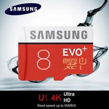 Samsung 8GB Micro SD Memory Card Class 10 plus Free Adapter