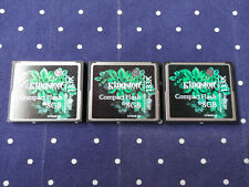 KINGSTON CompactFlash Card 8GB / elite pro 133X / Qty. 03