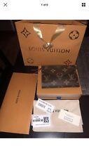 100% Authentic NWT Louis Vuitton Victorine Fuchsia Pink Monogram Wallet+Receipt