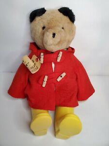 Paddington Bear Eden Plush Red Coat Yellow Boots