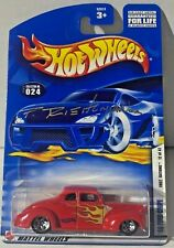 2002 HOT WHEELS FIRST EDITIONS`40 FORD COUPE  12/42 AUTOGRAPH PHIL RIEHLMAN