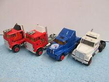 MAJORETTE    4 MOTRICI TRAILER TRUCK TRACTOR