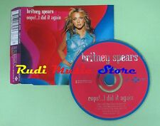 CD singolo BRITNEY SPEARS oops!..i did it again EUROPE 2000 no vhs dvd mc(S18)