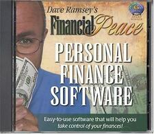Financial Peace Personal Finance Software, Dave Ramsey, Good Book