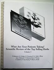 SCIENTIFIC REVIEW OF TOP SELLING HERBS ST JOHNS WART GINKGO GINSENG KAVA COHOSH