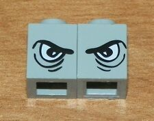 LEGO HARRY POTTER - Brick 1 x 1 w/ Eye - Right & Left Pattern - Light Gray