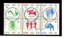 Alemania DDR Deportes Olimpiada de Tokio Serie del año 1964 (AD-56)