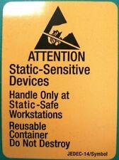 "3M 7101 ESD Warning Label 1-7/8"" x 2-1/2"", 500/roll"