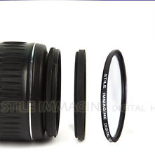 ADAPTER RING 52-58 FOR LENS ø 52 mm to FILTER ø 58 mm ITALY STEP UP