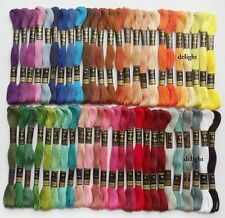 """50 Anchor Cross Stitch Cotton Embroidery Thread Floss / Skeins """"SET 2"""""""