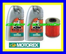 Kit Tagliando SUZUKI RM-Z 250 10>11 Filtro Olio MOTOREX 20W/60 RMZ 2010 2011