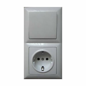 Visage Steckdosen Schalter electric socket