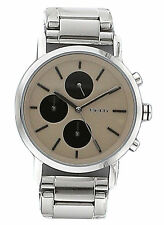 NEW DKNY NY2156 Women's Silver Chronograph Stainless Steel Watch