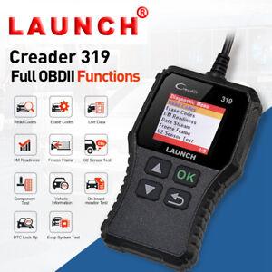 Voiture OBD2 diagnostic Scanner Launch CR319 lecteur code Outil de Défaut valise