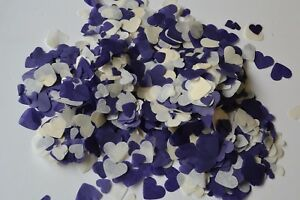 1000 pieces of CONFETTI  in ANY COLOUR TISSUE lots of 15mm shapes, any occasion