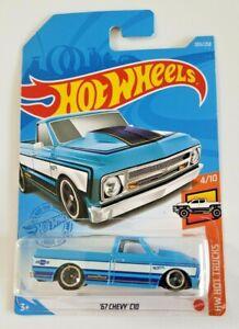 Hot Wheels '67 Chevy C10 Blue #203 203/250 2021 HW Hot Trucks 4/10