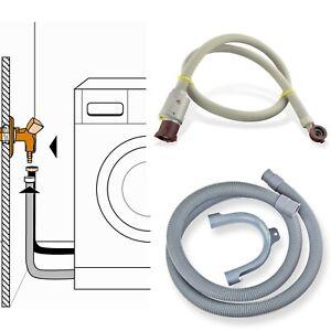 ✅ Anschluss-Set Aquastop Zulaufschlauch Ablaufschlauch 2m Schlauch Waschmaschine
