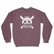 Vintage Horror Sweatshirt Camp Crystal Lake Sweatshirt