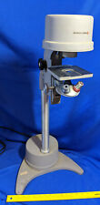 RARE BAUSCH & LOMB INVERTED MICROSCOPE STAND Mid Century Base Lamp Repurpose