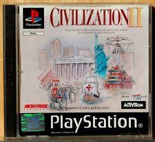 CIVILIZATION II - PLAYSTATION 1 - PAL ESPAÑA - COMPLETO