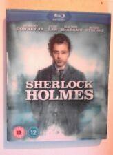 Sherlock Holmes BLU RAY with LENTICULAR SLIPCOVER starring Robert Downey Jr.