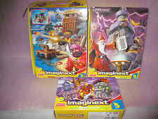 LOT Fisher Price Imaginext WIZARDS TOWER BUCCANEER BAY GOBLIN DUNGEON Play Set