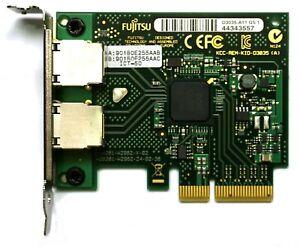 Fujitsu D3035-A11 Dual-Port PCIe x4 Gigabit Ethernet Network Card  Low-Profile