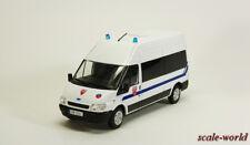 Ford Transit CRS (French Police) Deagostini, model cars 1/43