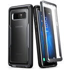 i-Blason Galaxy Note 8 Case, Heavy Duty Clear Back Magma Series Shockproof Cover