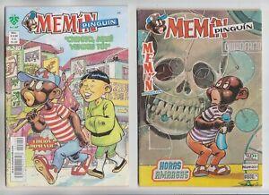 2x lot MEMIN PINGUIN—Mexican comics—Spanish—Editorial Vid—231 & 240—1990 & 2010