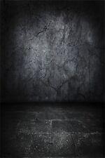 Photography Background Black Crack Wall 3x5ft Vinyl Studio Photo Backdrop HOT