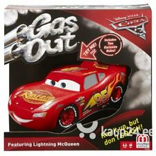Disney Pixar Cars 3 Gas Out Lightning Mcqueen Card Game Ages 3+ New Toy Race Fun