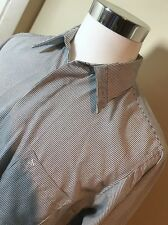 Stacy Adams Stripe Men's Long Sleeves Button Down Shirt. Large