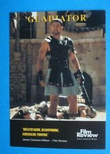 *GLADIATOR* 4x6 ANABAS Film Review COLLECTORS Card RC076 Ridley SCOTT Crowe