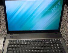 "Acer Aspire 7551-3464 17.3"" Notebook 250GB HDD 2.2GHz 2GB RAM MS2310"