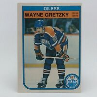 1982-83 OPC O Pee Chee Wayne Gretzky 106 Edmonton Oilers Hockey Card F078