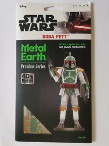 Star Wars Metal Earth Boba Fett ICONX model kit