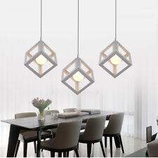 White Pendant Light Kitchen Lamp Modern Ceiling Lights Chandelier Lighting 3pcs