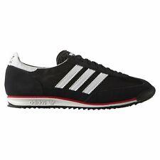 adidas Originals SL 72 Trainers - Black/White/Red - S78997 - Size UK 7-12