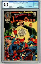 DSV5013. Superman's Pal Jimmy Olsen #135 CGC 9.2 NM- DC (1971) 1st SA Guardian