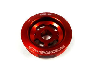 Red Crank Pulley For Toyota 1993-2006 Camry 1999-2003 Solara 1MZ-FE V6 By OBX