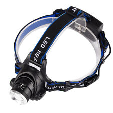 (USA) Headlamp 1000LM XM-L T6 LED Head Light Flashlight 18650 Battery Charger
