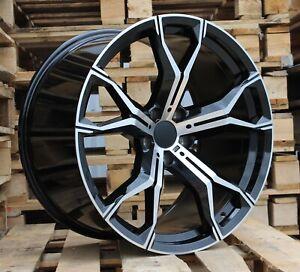 21 inch Alloy wheels fit BMW X5 X6 F15 F16 E70 E71 F85 F86 741 5x120 New set