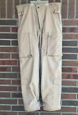 Mens US Air Force Large-Regular Chemical Protective Aircrew Tan Trousers Class 2