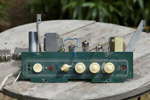 Mono Tube amplifier Audax output trans A remettre en route vintage To restart