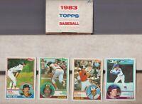 1983 TOPPS BASEBALL 792 Card SET Complete - BOGGS GWYNN SANDBERG RIPKEN