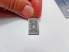 MEXICO STERLING SILVER BAR PENDANT