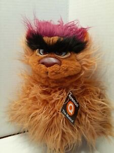 Avenue Q The Musical Trekkie Monster Hand Puppet Plush Stuffed Toy Animal Tags